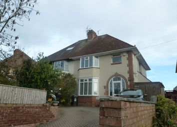 Thumbnail 3 bed semi-detached house for sale in Hulham Road, Exmouth