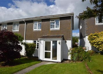 Thumbnail 3 bed semi-detached house for sale in Eddystone Rise, Liskeard, Cornwall
