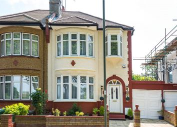 Thumbnail 3 bed semi-detached house for sale in The Crescent, Friern Barnet, London