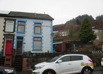 Thumbnail 2 bed end terrace house for sale in Glen View Street, Tonypandy, Rhondda Cynon Taff.