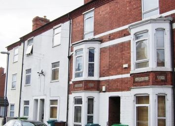 Thumbnail 5 bed terraced house to rent in Wimbourne Road, Arboretum, Nottingham