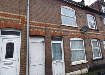 Thumbnail 3 bed terraced house to rent in Tavistock Street, Luton