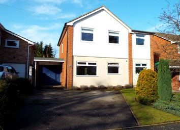 Thumbnail 4 bedroom detached house for sale in Sycamore Crescent, Church Crookham, Fleet