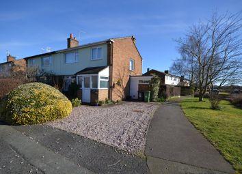 Thumbnail 3 bed semi-detached house for sale in Dutton Close, Stoke Heath, Market Drayton