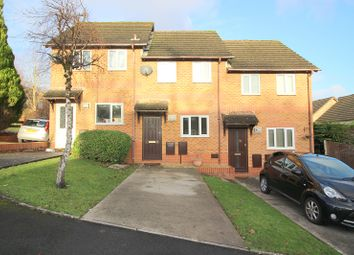 Thumbnail 2 bed terraced house for sale in St. Maddocks Close, Brackla, Bridgend.