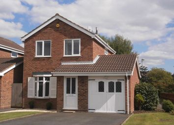 Thumbnail 3 bed detached house to rent in Cornovian Close, Perton, Wolverhampton