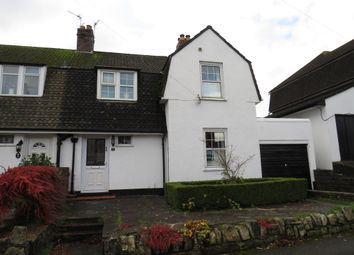 Thumbnail 3 bed semi-detached house for sale in Highfield Close, Park Road, Barry
