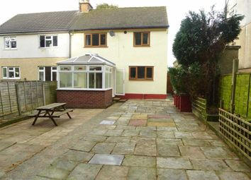 Thumbnail 3 bed semi-detached house for sale in Bowden Crescent, New Mills, High Peak