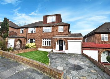 Thumbnail 4 bed semi-detached house for sale in Willow Close, Bexley, Kent