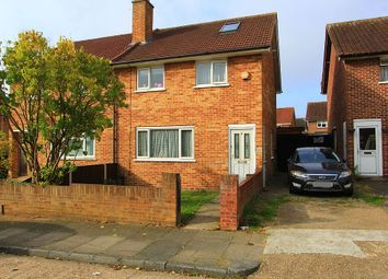 3 bed semi-detached house for sale in Roberts Close, Romford, London RM3