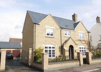 Thumbnail 4 bed detached house for sale in Paxton Drive, Fairfield, Hitchin