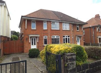 Thumbnail 3 bedroom semi-detached house for sale in Cynthia Road, Parkstone, Poole