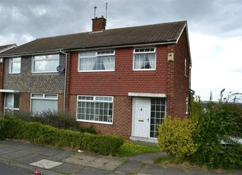 Thumbnail 2 bed semi-detached house to rent in Runswick Road, Eston, Middlesbrough