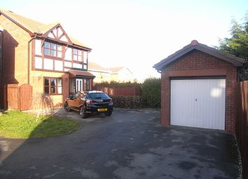 Thumbnail 3 bed detached house to rent in Walnut Crescent, Rhyl