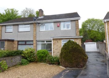 Thumbnail 3 bed semi-detached house for sale in Pen-Yr-Heol, North Cornelly, Bridgend