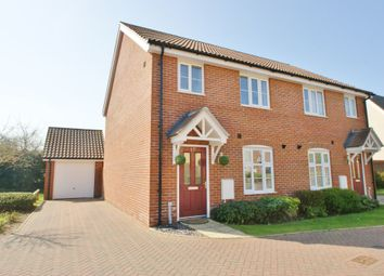 Thumbnail 3 bedroom semi-detached house for sale in Ernest Drive, Norwich