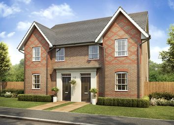 "Thumbnail 4 bed semi-detached house for sale in ""Oakham"" at Filter Bed Way, Sandbach"