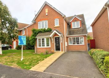 Thumbnail 3 bed detached house for sale in Long Lane, Coalville