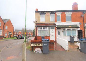 Thumbnail 3 bed terraced house for sale in Deakins Road, Birmingham