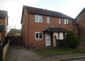 Thumbnail 2 bed semi-detached house to rent in Worcester Way, Attleborough