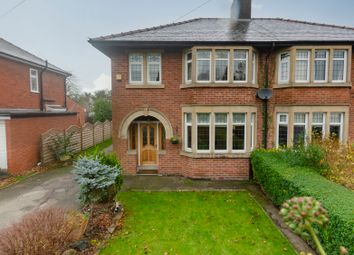 Thumbnail 3 bed semi-detached house for sale in Liverpool Road, Penwortham, Preston