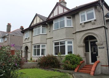 Thumbnail 3 bed semi-detached house for sale in Penygarth, Caernarfon