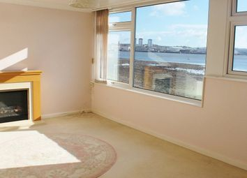 Thumbnail 3 bed flat to rent in Marine Drive, Torpoint