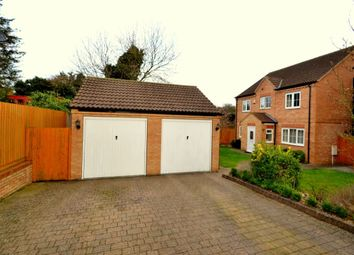 Thumbnail 4 bedroom detached house for sale in Auckland Close, Kingsthorpe, Northampton