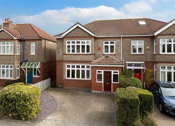 Thumbnail 4 bed semi-detached house for sale in Kings Drive, Bishopston, Bristol