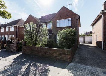 Thumbnail 3 bedroom semi-detached house for sale in Wiston Avenue, Broadwater, Worthing