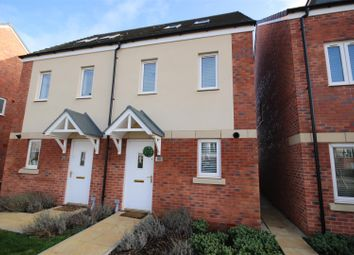 Thumbnail 3 bed semi-detached house for sale in Homington Avenue, Coate, Swindon