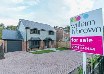 Finches Way, Colchester CO4. 4 bed detached house