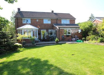 Thumbnail 4 bed detached house for sale in Central Drive, Romiley, Stockport
