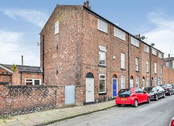 Thumbnail 3 bed end terrace house for sale in Pitt Street, Macclesfield, Cheshire