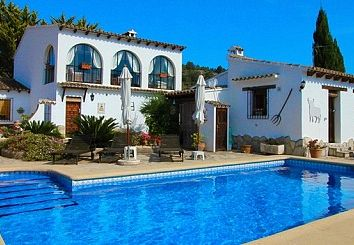 Thumbnail 4 bed country house for sale in Llíber, Spain