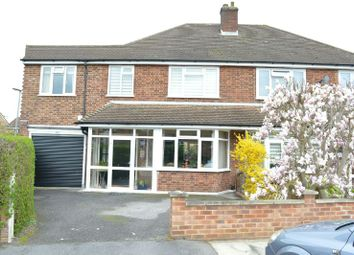 Thumbnail 4 bed semi-detached house for sale in Cumberland Drive, Chessington