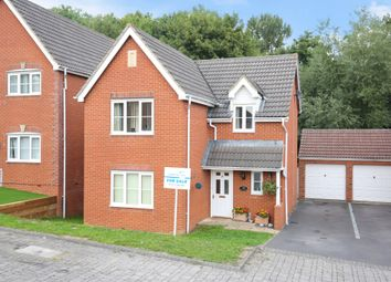 Thumbnail 4 bed detached house for sale in Paxmans Road, Westbury