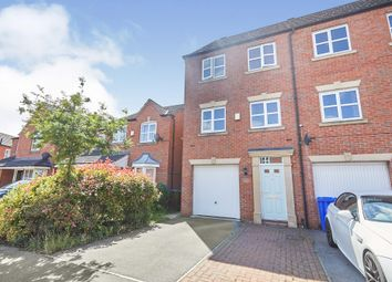 Thumbnail 3 bed end terrace house for sale in Blakeholme Court, Burton-On-Trent