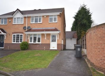 Thumbnail 3 bed semi-detached house to rent in Brookhouse Mews, Newhall, Swadlincote