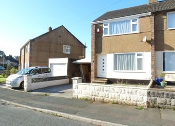 Thumbnail 2 bed semi-detached house to rent in Meadowside, Plymstock, Plymouth