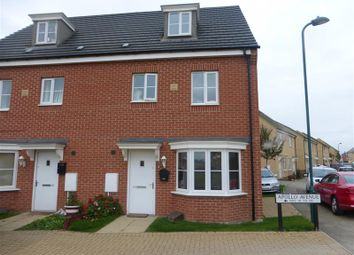Thumbnail 4 bedroom semi-detached house for sale in Apollo Avenue, Cardea, Peterborough