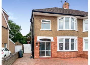 Thumbnail 3 bed semi-detached house for sale in Heol Waun Y Nant, Whitchurch