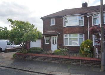 Thumbnail 3 bed semi-detached house for sale in Laburnum Avenue, Manchester
