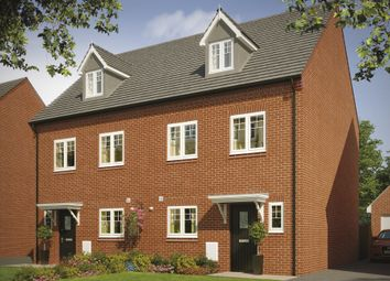 Thumbnail 4 bed semi-detached house for sale in Watling Street, Wilnecote, Tamworth