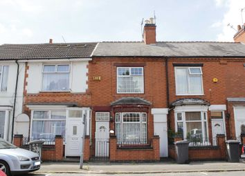 Thumbnail 3 bed terraced house for sale in Stafford Street, Leicester