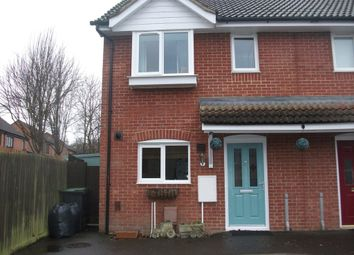 Thumbnail 3 bed end terrace house for sale in Releet Close, Great Bricett, Ipswich
