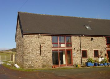 Thumbnail 3 bed barn conversion to rent in Aberbran, Brecon