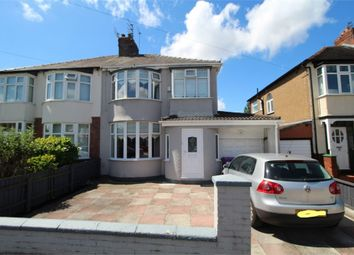 Thumbnail 3 bedroom semi-detached house for sale in Melbreck Road, Mossley Hill, Liverpool, Merseyside