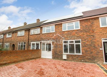 Thumbnail 4 bed terraced house for sale in Camborne Way, Romford
