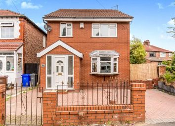 Thumbnail 4 bed detached house for sale in Grangethorpe Drive, Manchester, Greater Manchester, Uk
